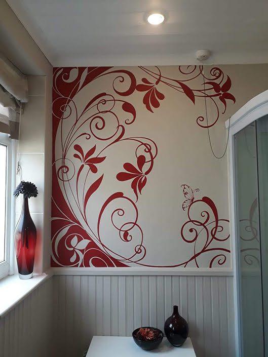 red-floral-bathroom-wall-mural-corner-roomview