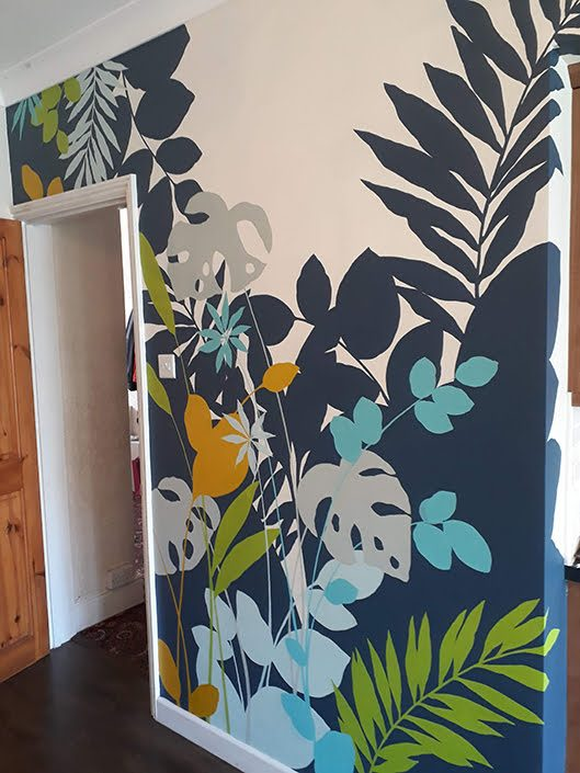 layered-tropical-leaves-kitchendiner-wall-mural