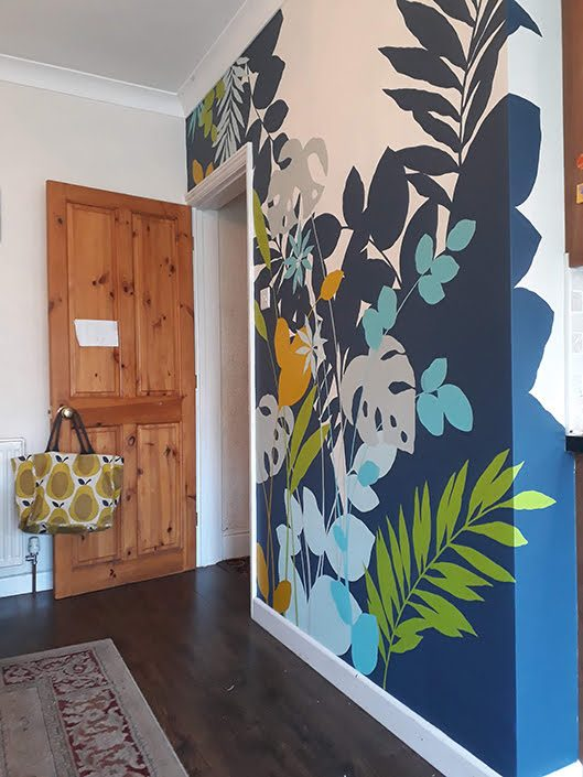 roomview-tropical-leaf-kitchen-dining-wall-mural