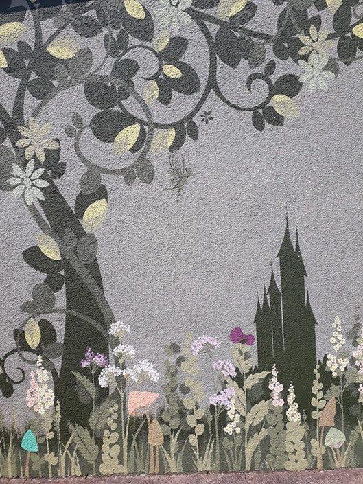 fairy-castle-garden-wall-mural